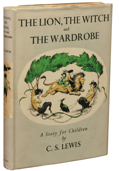 C.S. Lewis: The Lion, the Witch and the Wardrobe, first edition
