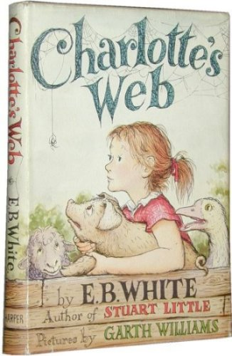 First edition of Charlotte's Web by E.B. White